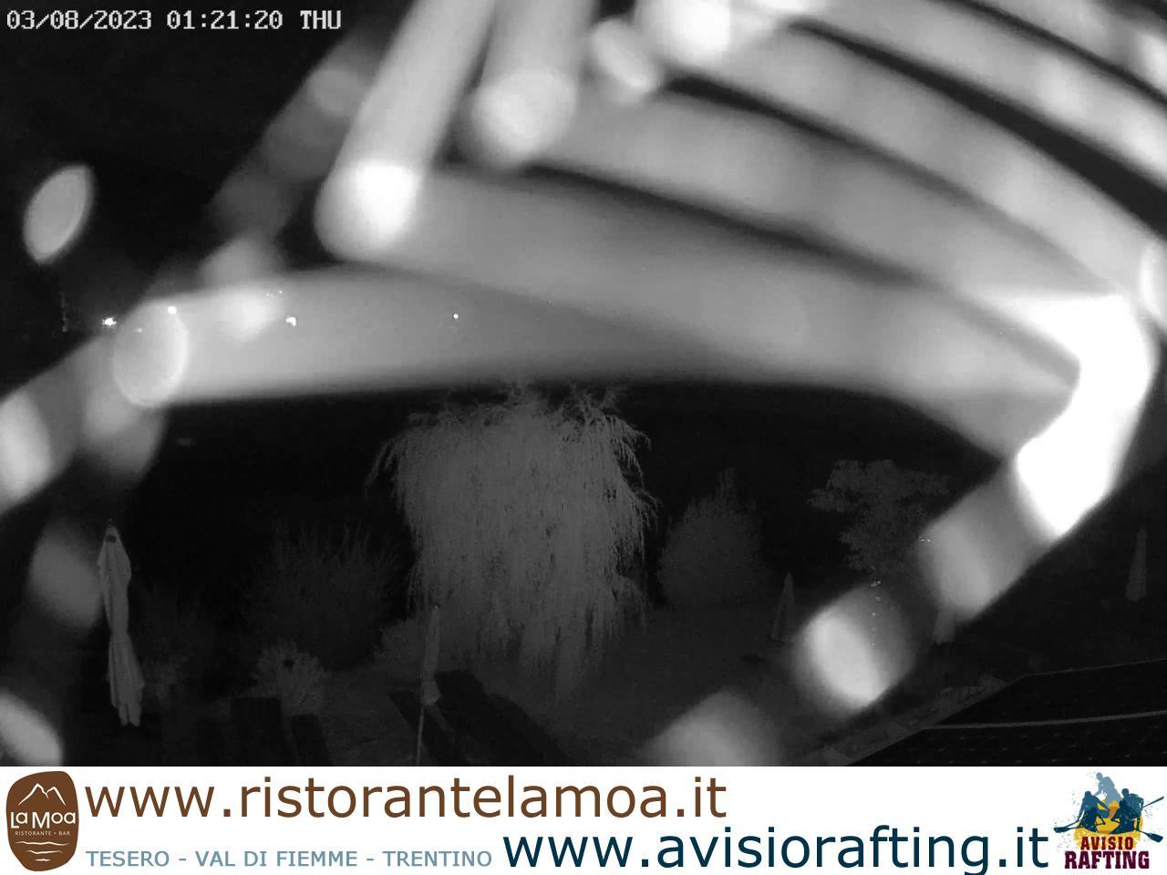 Webcam Bar Ristorante La Moa Lago di Tesero